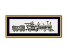 Your place to buy and sell all things handmade Counted Cross Stitch Patterns, Cross Stitch Designs, Dmc Floss, Steam Locomotive, Digital Pattern, 2 Colours, Cross Stitching, Needlepoint, Embroidery