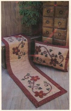click here to view larger image of  Floral Home (PATTERNS) - Quilting Books Patterns and Notions