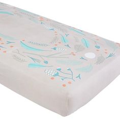 Well Nested Crib Fitted Sheet (Nest)  | The Land of Nod - get a matching changing pad cover and voila