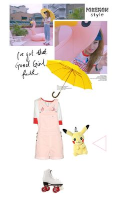 """""""You & I~ Kisum"""" by createjewels ❤ liked on Polyvore featuring Wildfox, STELLA McCARTNEY, music, musicvideo, romper and pokemonstyle"""