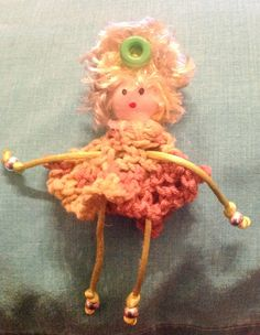 #muñequitabijoux #handmade #crochet #ganchillo #primavera