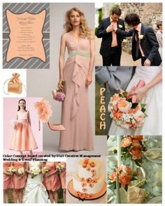 Peach - Color Inspiration Boards (DLG Creative Management's)