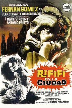 Rififi en la ciudad (1963) España. Dir: Jesús Franco. Suspense. Cine negro - DVD CINE 1197