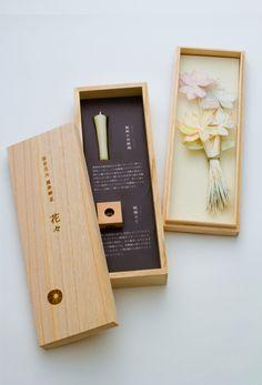 Slim wooden box | 筒井時正玩具花火製造所:線香花火