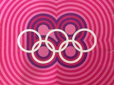 MEXICO 68. The great design work by Pedro Ramirez Vazquez, Eduardo Terrazas and Lance Wyman.