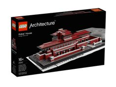 LEGO Architecture Robie House - or one of these....
