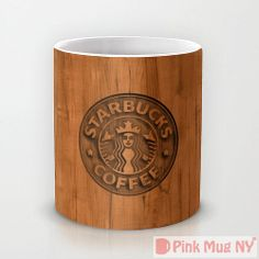 Personalized mug cup designed PinkMugNY  Starbucks by PinkMugNY, $10.95