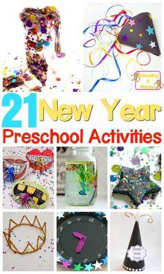 21 new year activities for preschool and older kids too