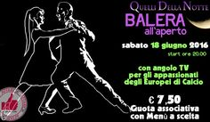 In Balera Da Quelli Della Notte - Sabato 18 Giugno 2016 http://affariok.blogspot.it/2016/06/in-balera-da-quelli-della-notte-sabato_13.html