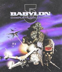 Babylon series Plus The Movie/Crusade Collection [DVD 'Babylon 5 Complete Collection' - box set includes: Babylon The Complete Series Full Sci Fi Tv Shows, Sci Fi Series, Tv Series, Fiction Movies, Science Fiction, Deep Space 9, Best Sci Fi, Babylon 5, Magic Mike