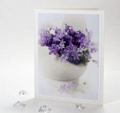 http://www.etsy.com/listing/87024281/blank-greeting-photo-note-card-ivory-any    Blank greeting photo note card ivory any by IrinaPhotographyCard,    #card, #notecard, #greeting #white #gift #flower #wedding, #birthday #purple