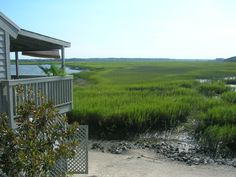 view from The Old Oyster Factory, Hilton Head, SC