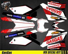 Kit Déco Moto pour Mx Decal Kit for Husaberg FE//TE Replica 2012