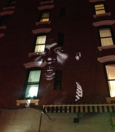 "Kanye West, always the visionary, has debuted his new single ""New Slave"" via… video projections taking place around the world. The first projection was found on the corner of Bedford and North 7th in Williamsburg, Brooklyn, but Kanye's website has shared a map with 65 other projections going on globally."
