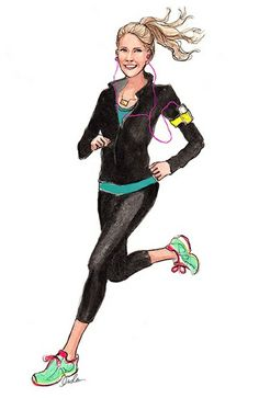 running. illustration by inslee haynes