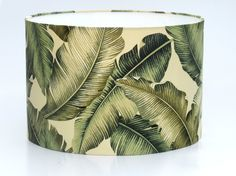 Banana Leaf Bold lampshade. Adore!