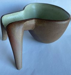 Vintage Mid Century Modern David Gil Co Op Pottery Ashtray | eBay