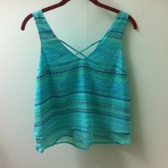 Candie's - Polyester Top. Excellent conditions. I am open to offers and no trades. Candie's Tops