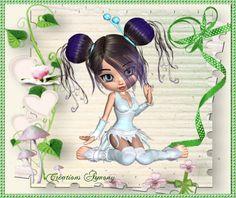 Tag d'été animé 2 - Créations Armony Creations, Fairy, Cartoon, Image, Engineer Cartoon, Comic, Cartoons, Elf, Comics