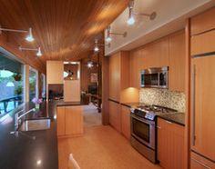 paneled fridge