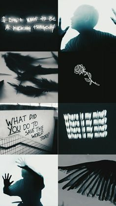 bts angels and demons - Bing images Aesthetic Collage, Kpop Aesthetic, Bts Taehyung, Bts Bangtan Boy, Jimin, Bts Quotes, Bts Lockscreen, Bts Edits, About Bts