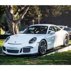 Really like the lines of the Porsche 991 GT3 #porsche