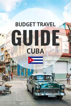 Budget Travel Guide & Tips For Cuba. More at ExpertVagabond.com