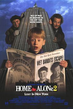 """Home Alone 2:  Lost in New York"" directed by Chris Columbus / 3rd grossing film in 1992"