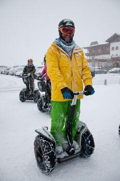 Segway auch ein riesen Spaß im Winter