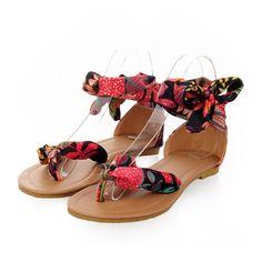 Fashionable Sandals Women Shoes Plus Size black