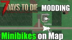 7 Days to Die Modding Tutorial - Show Your Minibike on the Map