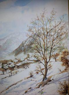Cerler en invierno. España.(Vendido)