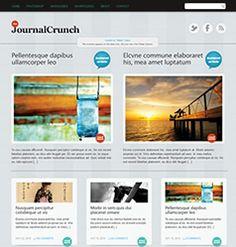 JournalCrunch Free Wordpress Theme