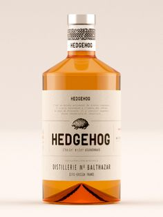 Hedgehog Whisky — The Dieline - Package Design Resource