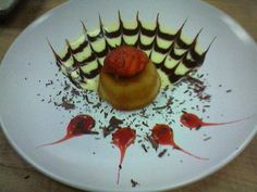 Dessert sauces—we made crème anglais, chocolate sauce, and raspberry coulis, then baked up some cupcakes and practiced plating with sauces. ...