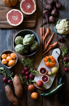 Produce Feast. What fruit and veg are you shopping for at the Farmer's Market this weekend? #foodphotography