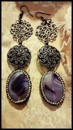 Guarda questo articolo nel mio negozio Etsy https://www.etsy.com/it/listing/505069537/orecchini-stile-gotico-vittoriano-in