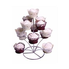 Designed to hold 13 cupcakes but can also be used for other confectionery or a decorative candelabra. How long does an order take to be dispatched? Wedding Cake Stands, Wedding Cakes, Cake Baking Supplies, Baking Accessories, Cake Shop, Confectionery, No Bake Cake, Punch Bowls, Cupcake Cakes