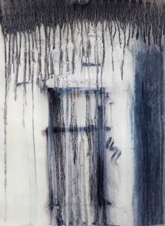 deconstruction r025    Painting in oil on paper    11.8 x 16 inches    http://www.fearnfineart.moonfruit.com