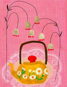 Anisa Makhoul, tea pot, tea,