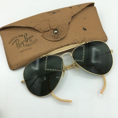 Sunglasses Case, 30th, Ray Bans, Usa, Vintage, Style, Girl Glasses, First Class, Foot Pads