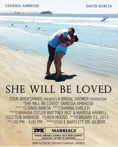 vanessas movie themed bridal shower invite awesome loveit wedding movies wedding fun