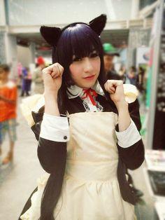 Haki cosplay Kuroneko https://www.facebook.com/cosplayer.Haki