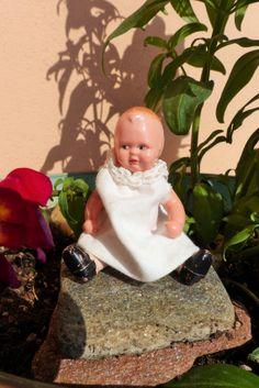 Bambolina Tedesca Edy di Plastica con Viso di bamboleantiche, €15.00