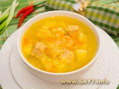 суп с фрикадельками с пшеном рецепт с фото