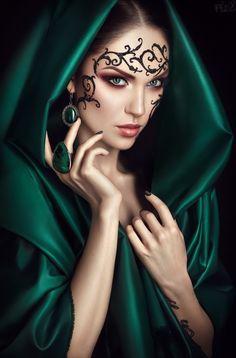 Model: Anastacia Poddubnaya MUA: Alexandra Shtein & Elvira Savchuk SFX: Oleg C'os Accessories: Narciss Noir Assistant: Inna Kikhtenko  www.FlexDreams.com