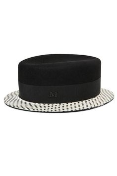 7d5ed8a7fbabd Stylish hats to top off your look this spring. Maison Michel Hat