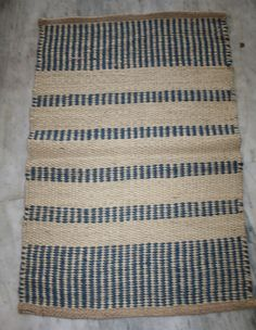 Hand Woven 100% Jute Handmade Door Mat Floor Carpet Dari Throw Runner Rug #Turkish