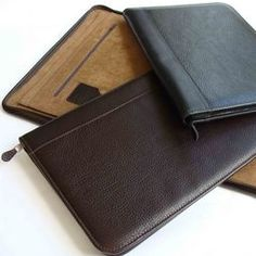 leather compendiums: Genuine leather portfolios or compendiums - graduation gifts corporate gifts