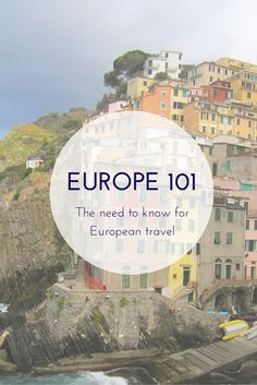 Must read for all Europe bound travelers.